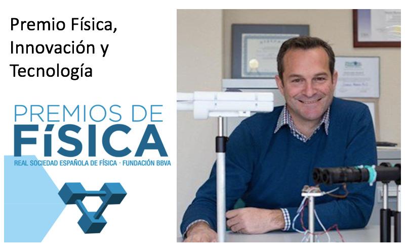 Carlos Dorronsoro Premio Física, Innovación y Tecnología BBVA-RSEF