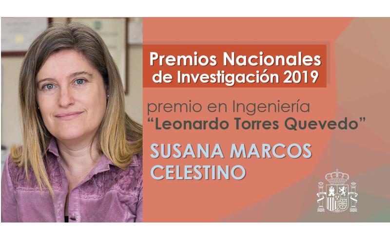 "Susana Marcos Premio Nacional de Investigación ""Leonardo Torres Quevedo"""
