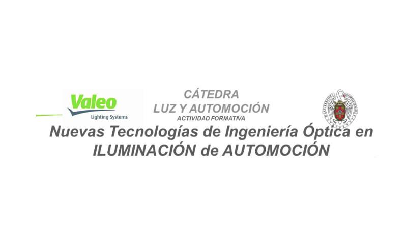 """Curso """"Nuevas tecnologías ópticas en la iluminación en el sector de la automoción"""""""