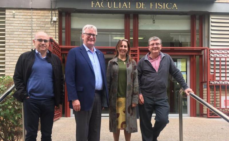 Visita a España de Jim Oschmann, 2019 SPIE President
