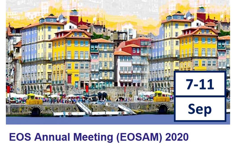 Abierto el plazo de presentación de trabajos en EOSAM2020, Porto