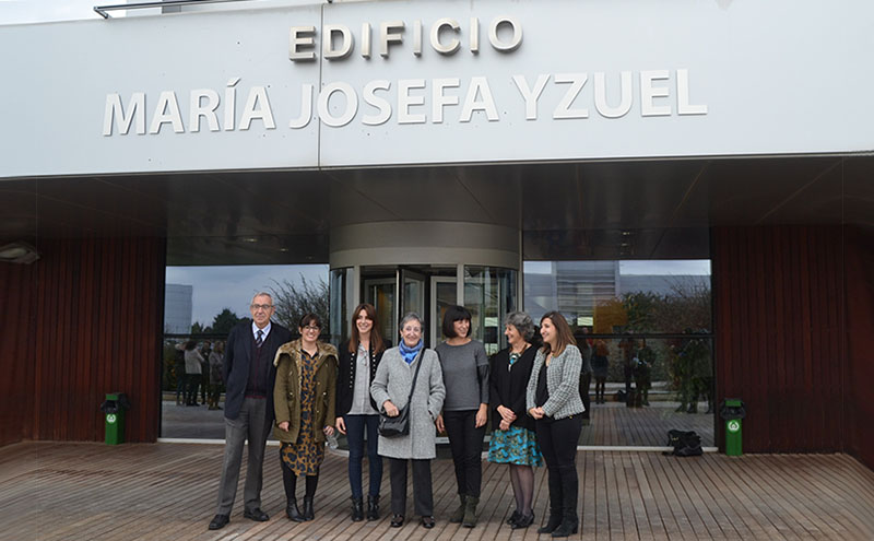 María Josefa Yzuel dará nombre a uno de los edificios de Walqa, Huesca