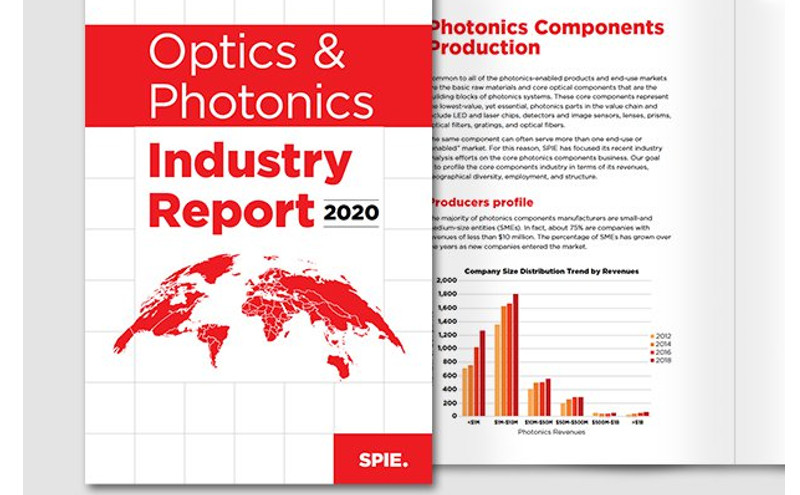 SPIE publica el OPTICS & INDUSTRY REPORT 2020