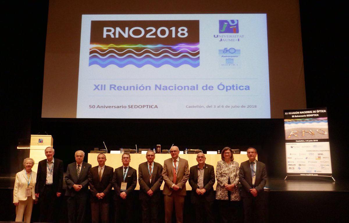 SEDOPTICA celebra su 50º aniversario en la RNO2018