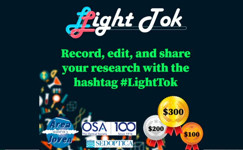 Concurso de vídeos Light Tok del Área Joven de SEDOPTICA