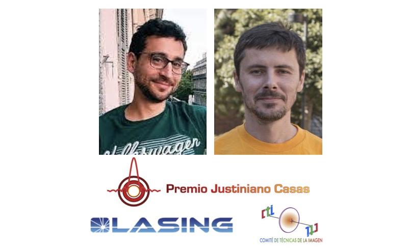 Mario García Lechuga Premio Justiniano Casas 2020 y Alexander Vallmitjana Lees Accésit