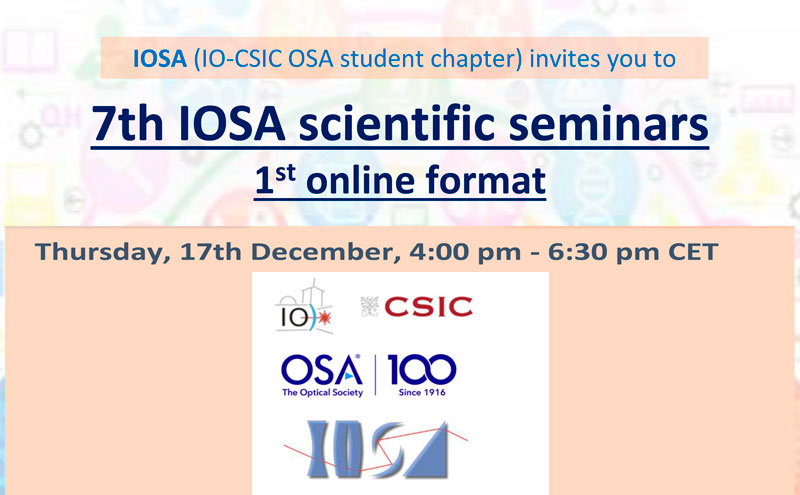 7th Edition of IOSA Scientific Seminars