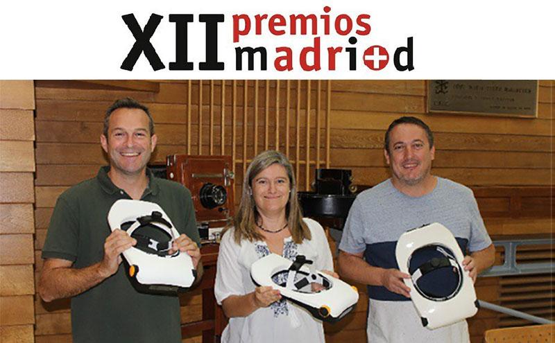 SimVis premiada como la Mejor Patente del Año por Fundación Madri + d