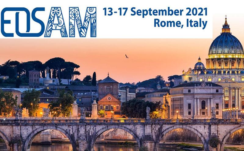 Abierto el plazo de presentación de trabajos en EOSAM2021, Rome