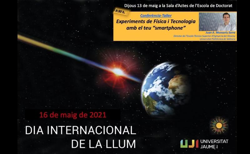 Experimentos de Física y Tecnología con tu Smartphone: celebrando el Día Internacional de la Luz