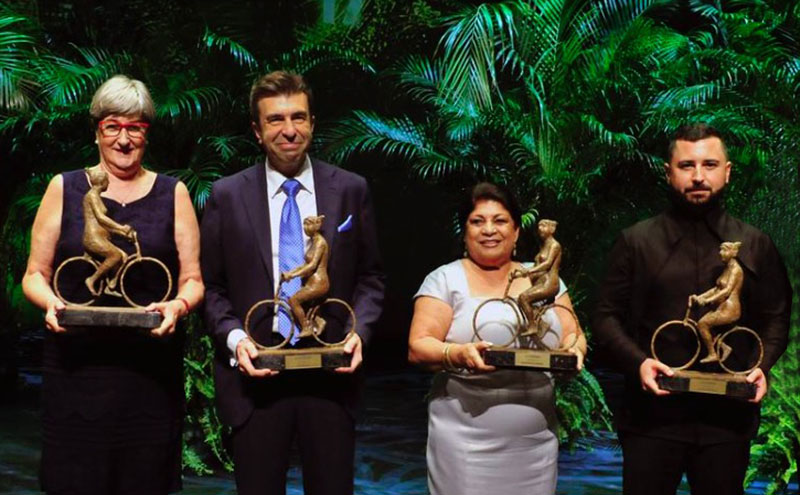 Pablo Artal galardonado con el Premio Los mejores de la Verdad que concede el diario La Verdad de la región de Murcia