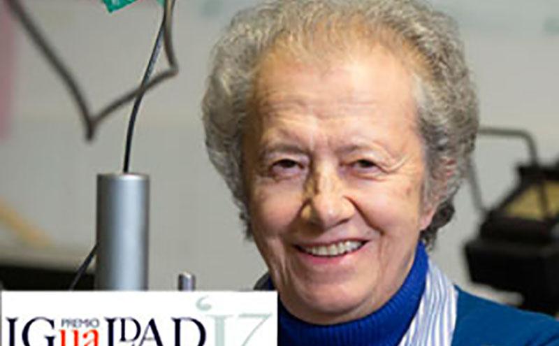 María Josefa Yzuel, Premio IGUALDAD-UA