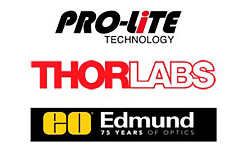 Pro-Lite, Edmund Optics y Thorlabs, nuevas empresas colaboradoras de SEDOPTICA