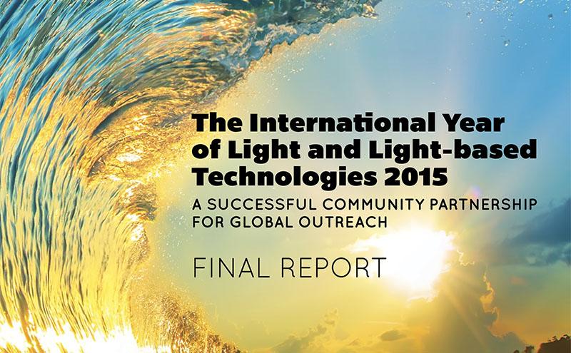 Acto de Entrega Informe IYL2015